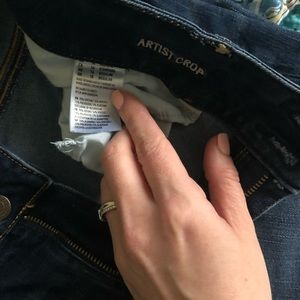 American Eagle Outfitters Jeans - 🦋AE Dark Wash Artist Crop Jeans🦋